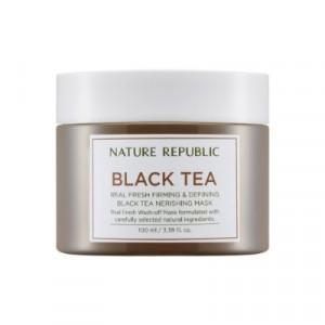 NATURE REPUBLIC Real Fresh Black Tea Nourishing Mask 100ml