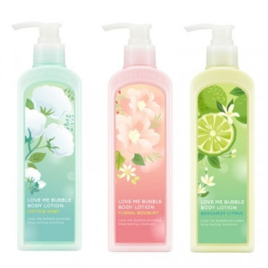 NATURE REPUBLIC Love Me Bubble Body Lotion 400ml*2ea