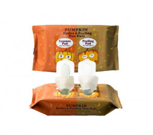TOO COOL FOR SCHOOL Pumpkin Hydra & Peeling Duo Pads 50sheets