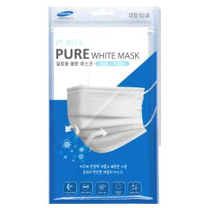 PURITA Pure White Mask 10ea(1pack) [Made In Korea]