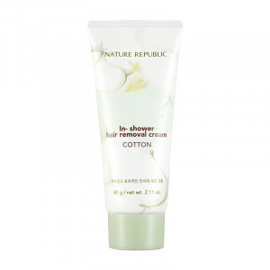 [Reseller] NATURE REPUBLIC Cotton In Shower Removal Cream 60g*8ea