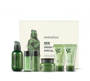 INNISFREE Greent Tea Seed Serum Special Set 80m+10ml+10ml+15ml+15ml+20ml