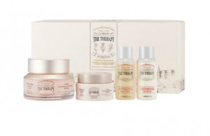THE FACE SHOP The Therapy Royal Made Oil Blending Cream Special Set 520g