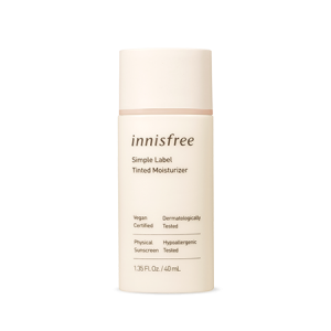 INNISFREE Simple Label Tinted Moisturizer 40ml