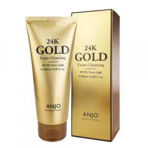 ANJO 24K GOLD FOAM CLEANSING 180ml