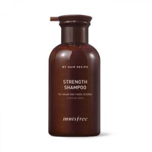 INNISFREE My Hair Recipe Strength Shampoo 330ml (For Weak Hair Roots)