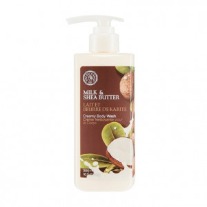 THE FACE SHOP Milk & Shea Butter Creamy Body Wash 300ml