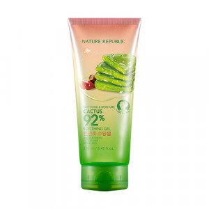NATURE REPUBLIC Soothing & Moisture Cactus 92% Soothing Gel (Pump) 400ml