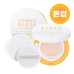 [SALE] APIEU Power Block Tone Up Sun Cushion 14g SPF50+ PA++++