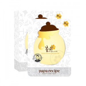 PAPARECIPE Bombee Whitening Honey Mask Pack 25g*10ea