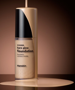 [W] HANSKIN Bare Glow Foundation SPF35 PA++ 30ml