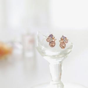 [W] SOO & SOO Aura Earrings 1set