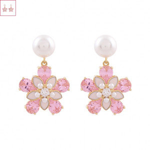 [W] NOONOO FINGERS Cherry Blossom Earrings 1set