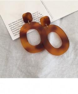 [W] MINUET Object Marbling Earring 1set