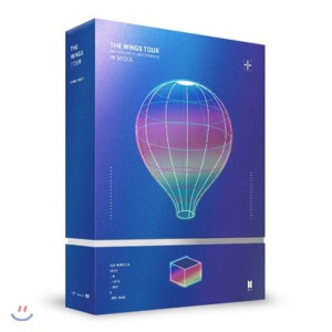 [W] BTS Live Trilogy Episode III The Wings Tour in Seoul Concert DVD 1ea