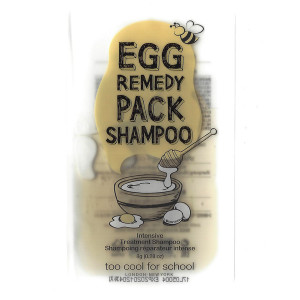 [S] TOO COOL FOR SCHOOL Egg Remedy Pack Shampoo 8g*5ea