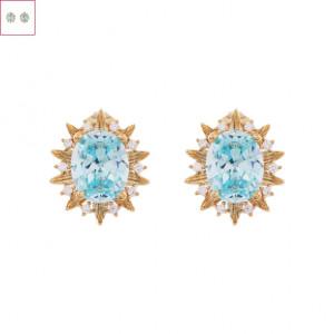 [W] NOONOOFINGERS Kiwano Earrings 1set