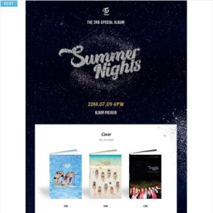[W] TWICE Summer Nights vol.2 1ea