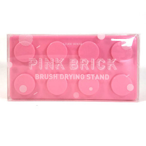 [S] ETUDE HOUSE Pink Brick Brush Drying Stand 1ea