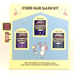 [S] ETUDE HOUSE Two Tone Treatment Hair Color Kit