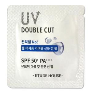 [S] ETUDE HOUSE UV Double Cut Fresh Sun Gel SPF 50+ PA+++ 1ml*10ea