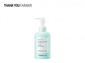 [R] THANK YOU FARMER Back To Pure Daily Foaming Gel Cleanser 200ml