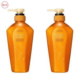 [W] SHISEIDO Tsubaki Oil Extra Smooth Conditioner 450ml*2ea