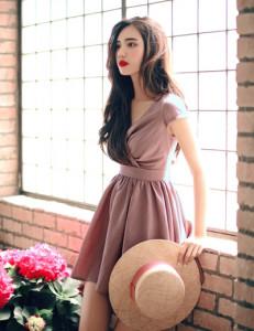 [W] Milkcocoa 47848.La Vie En Rose summer dress 1ea