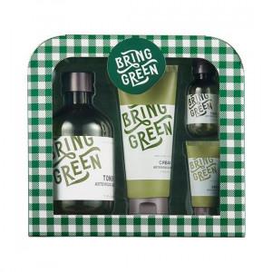 [W] Bring Green Camouflage Toner& Cream Set