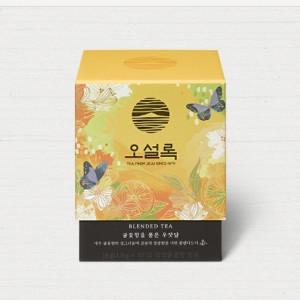 [W] OSULLOC Fence Enveloped in Tanjerene Flower Tea 10ea