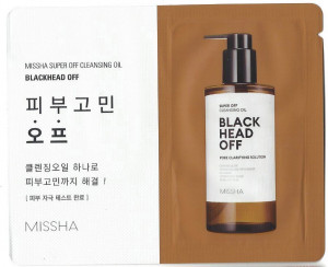 [S] MISSHA Super Off Cleansing Oil Blackhead Off  1ml*10ea