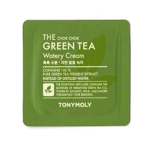 [S] TONYMOLY The Chok Chok Green Tea Watery Cream 1ml*10ea