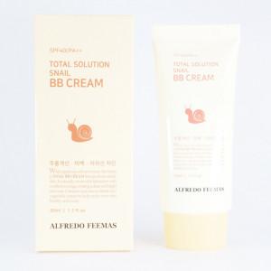 [SALE] ALFREDO FEEMAS Total Solution Snail B.B cream 50ml SPF40/Pa++