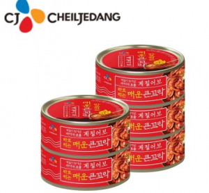 [R] CJ Canned Spicy Cockle 120g x 5ea