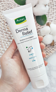 [R] Acnes Derma Relief Moisture Foam Cleanser 125ml