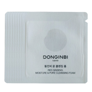 [L] DONGINBI Red Ginseng Moisture & Pure Cleansing Foam 1ml*10 (10ml)