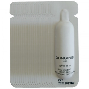 [L] DONGINBI Red Ginseng Moisture & Balancing Softner 1ml*50 (50ml)