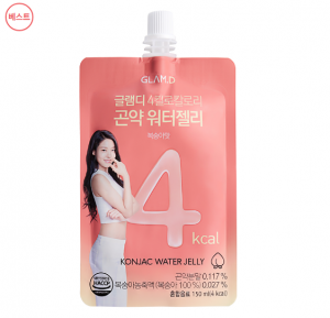 [R] GLAM.D Konjac jelly peach flavor 150ml