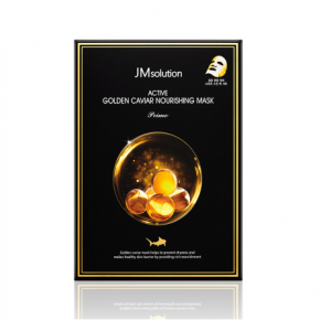 [SALE] JM SOLUTION Active Golden Caviar Nourishing Mask Prime 30ml*10ea