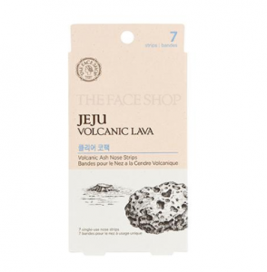 THE FACE SHOP Jeju Volcanic Lava 0.2g*7ea (Clear & Smooth)