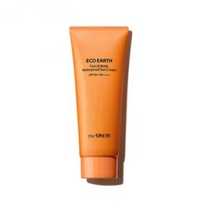 THE SAEM Eco Earth Face&Body Waterproof Sun Cream 100g