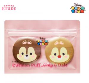 ETUDE HOUSE Disney Cushion Puff Chip & Dale 2pcs