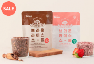 [R] DANO Brown Rice Soul Protein Berry & Protein Chocolate Cereal 35g*1ea