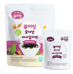 [R] Pure Eat Organic Child Kim Jaban (2g*10ea)
