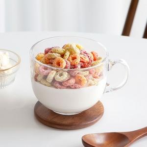 [R] Nicoat Wood Cereal Spoon 1ea
