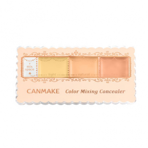 [R] Canmake Palette Color Mixing Concealer 3.9g