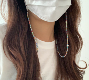 [R] Beads Necklace 1ea