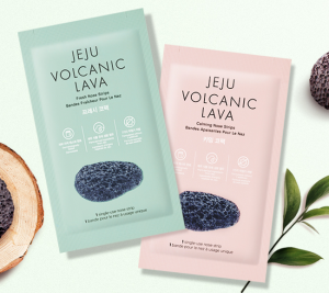 THE FACE SHOP Jeju Volcanic Lava Nose Strips 7ea