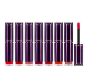 THE FACE SHOP Vdivov Lip Cut Satin Liquid Rouge 3.8g