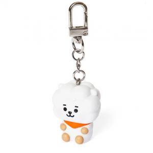 [R] LINE FRIENDS BT21 RJ Baby Figure Key Ring 1ea